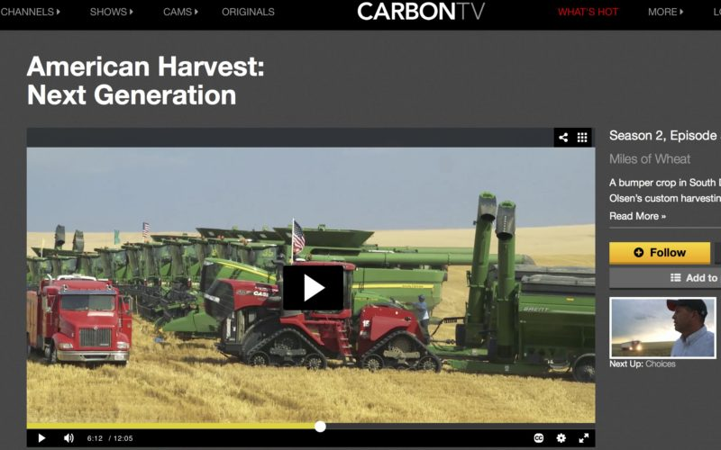 American Harvest on Carbon TV