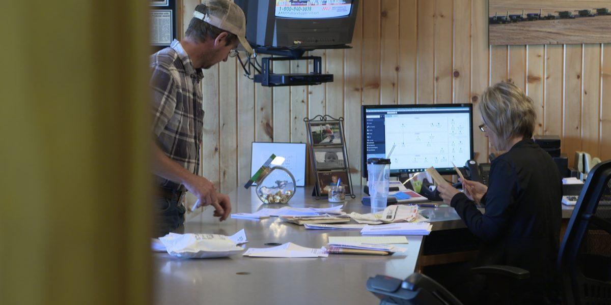 Olsen Custom Farms front office